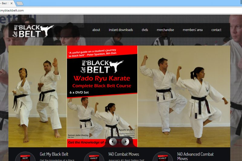 Get My Black Belt