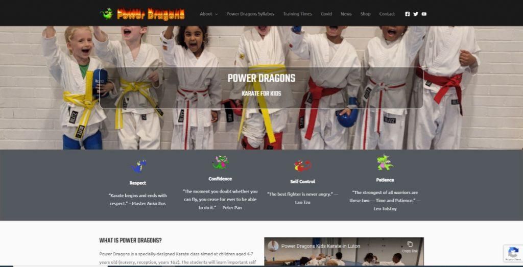Power Dragons Kids Karate