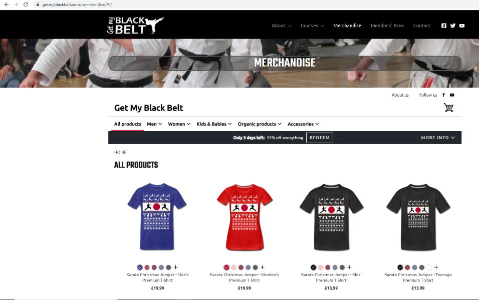 e-commerce Merchandise